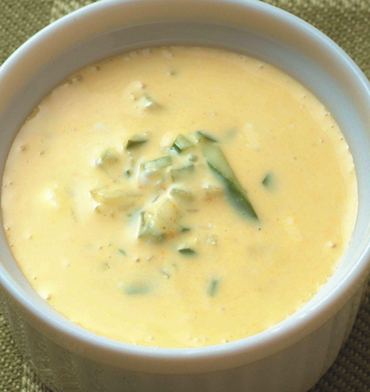 食譜:咖哩黃瓜優格醬