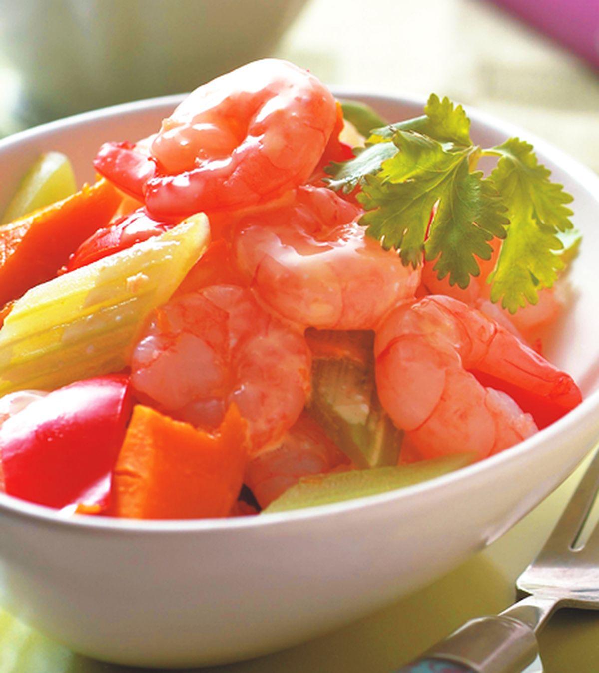 食譜:蔬菜蝦仁