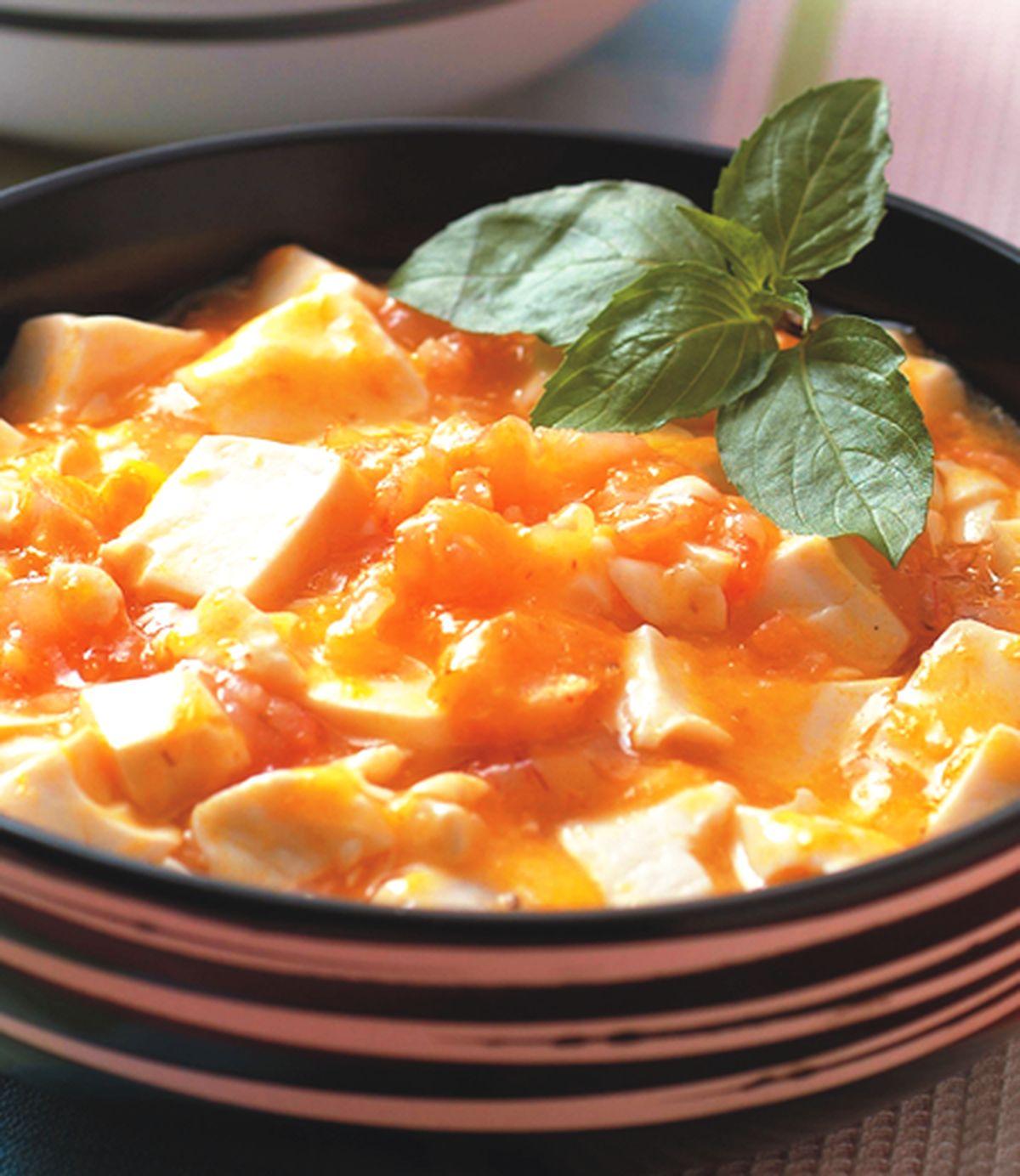 食譜:素蟹黃豆腐