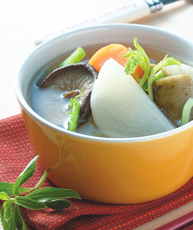 食譜:養生蔬菜湯