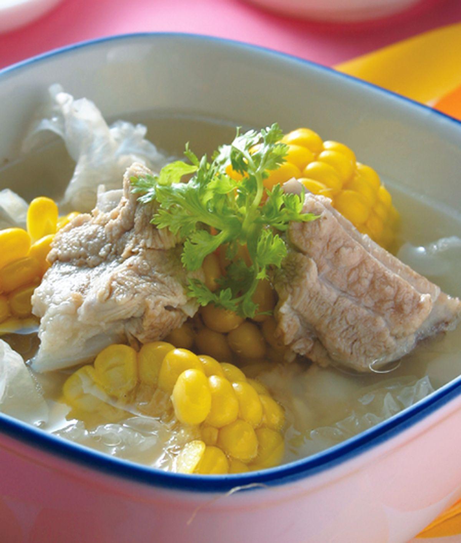 食譜:玉米排骨湯(1)