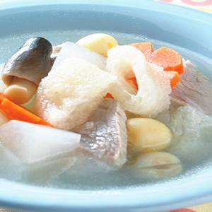 蘿蔔竹笙湯