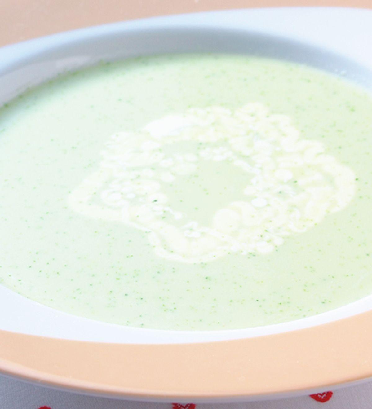 食譜:奶油青花椰菜冷湯