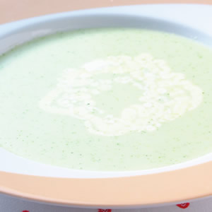 奶油青花椰菜冷湯