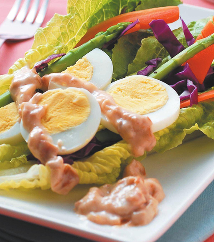 食譜:蘿曼輕飄沙拉