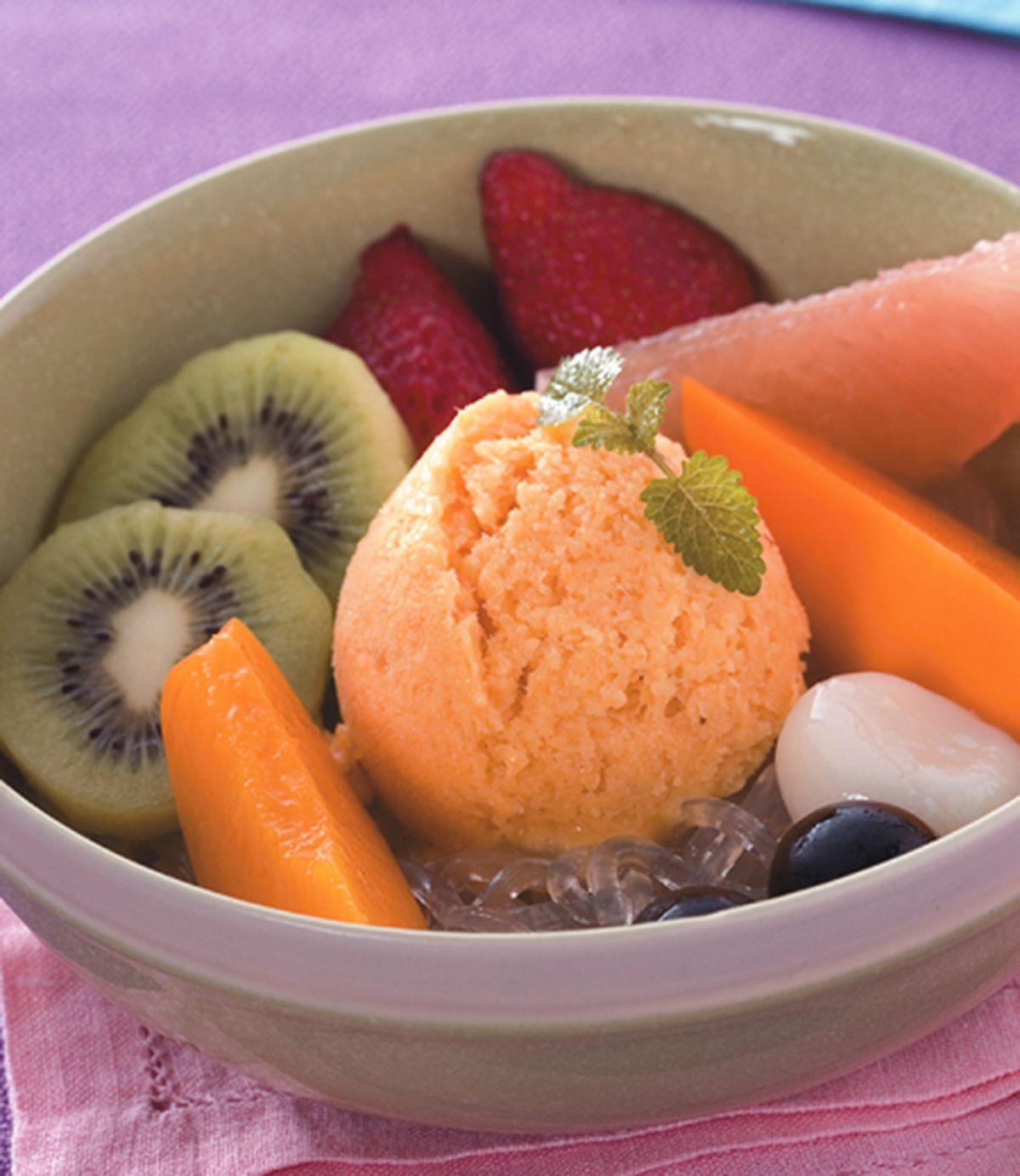 食譜:冰淇淋蜜果