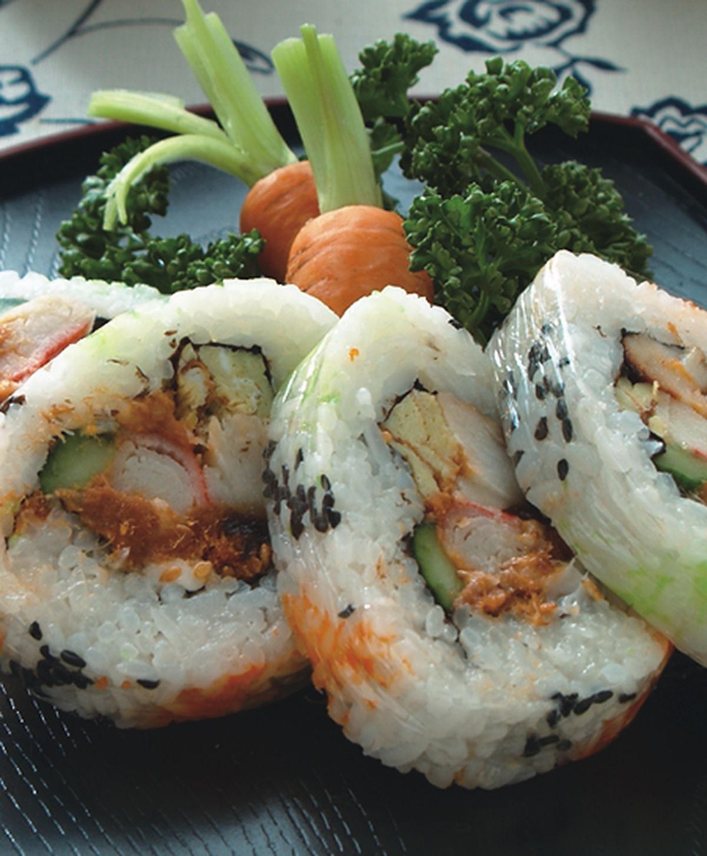 食譜:滴水壽司