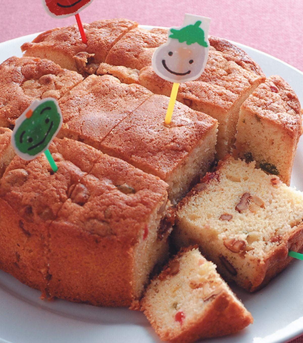 食譜:水果核桃蛋糕