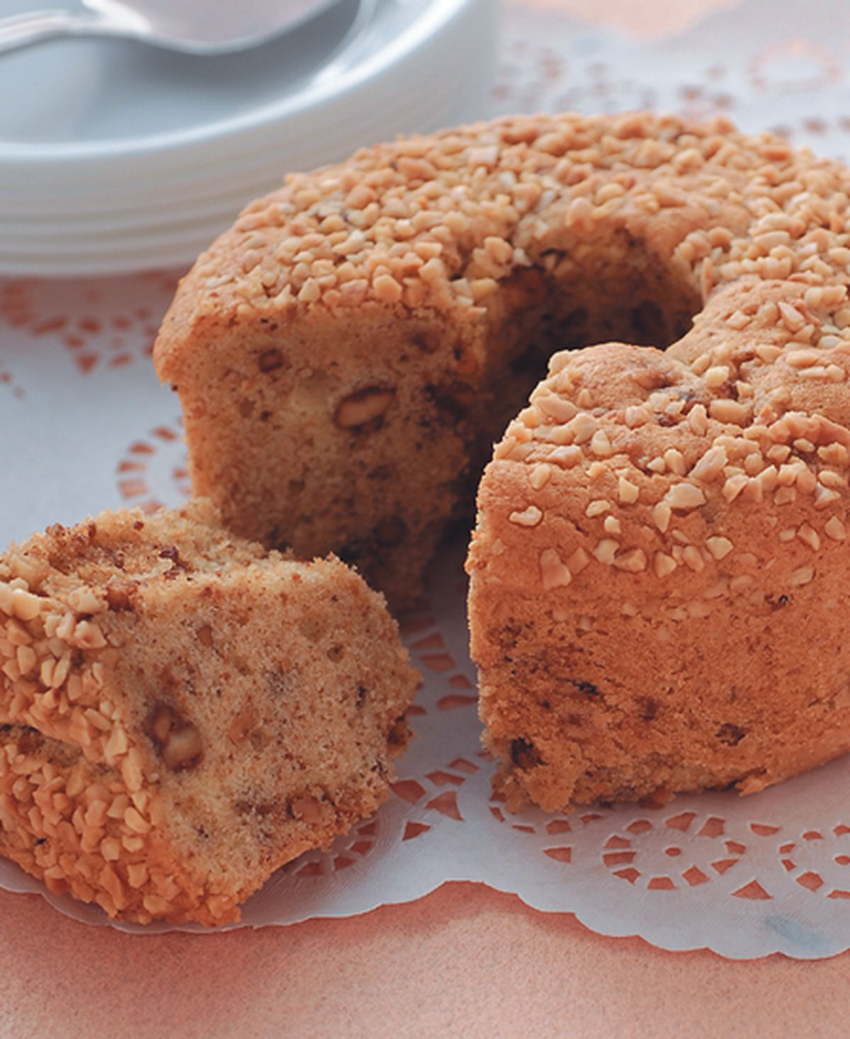 食譜:花生奶油蘭姆蛋糕
