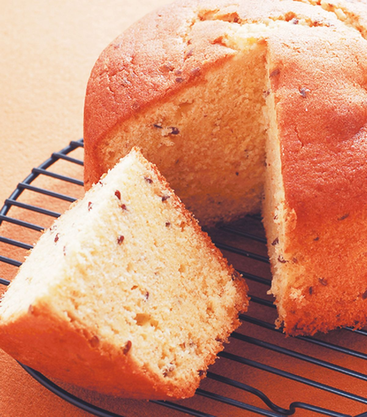 食譜:亞麻全穀蛋糕