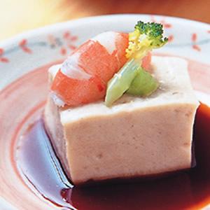 汁淋胡麻芥末豆腐