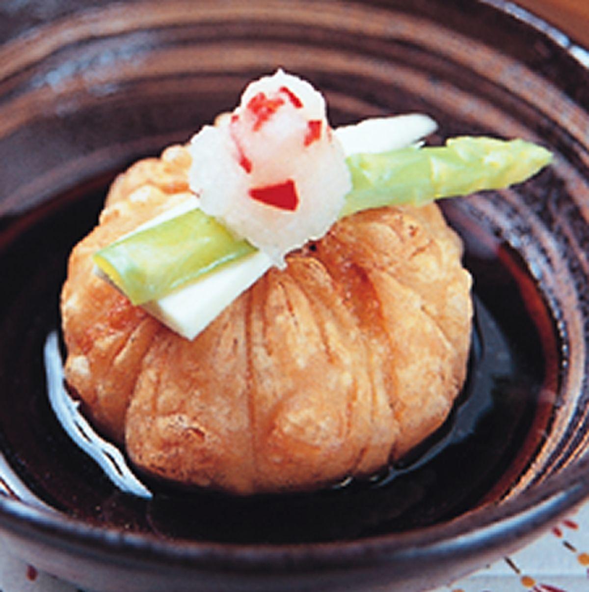 食譜:海鮮胡麻豆腐