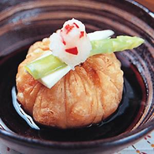 海鮮胡麻豆腐