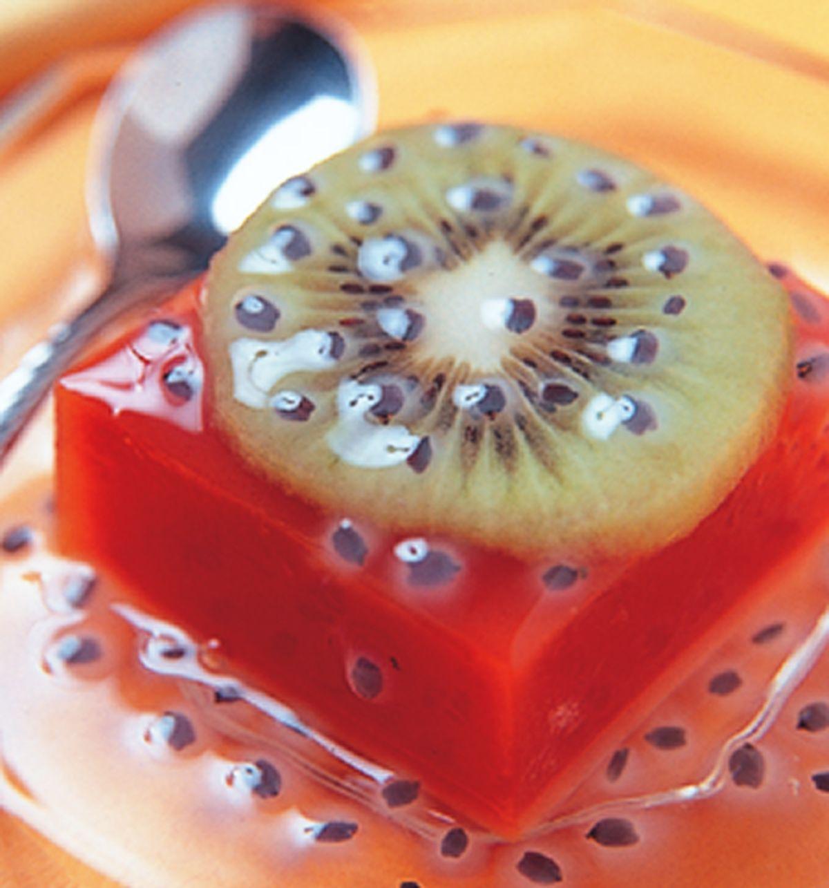 食譜:奇異果蕃茄豆腐