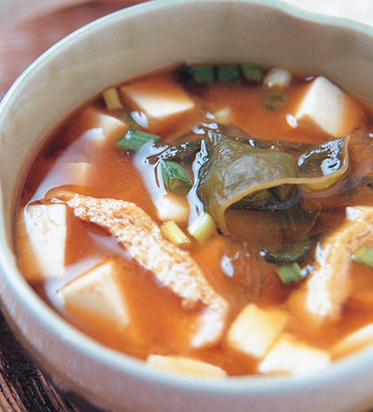 食譜:豆腐味噌湯(1)