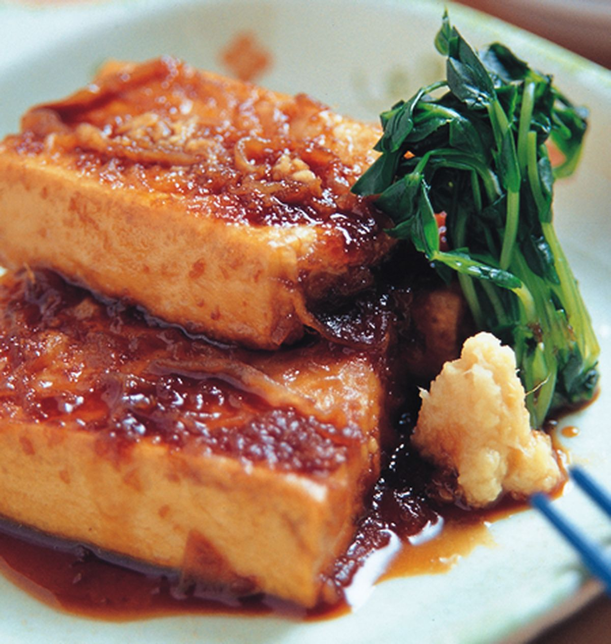 食譜:鐵板薑汁豆腐燒