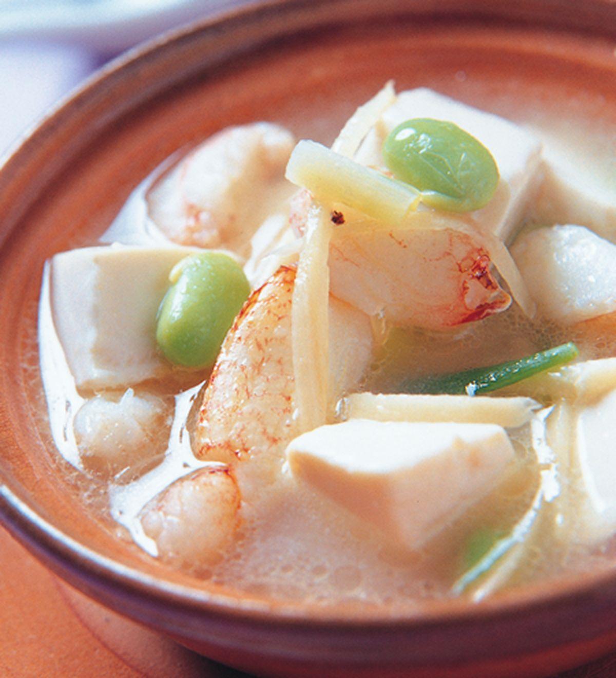 食譜:蟹肉豆腐羹
