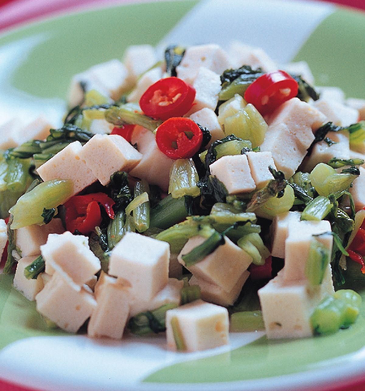食譜:雪菜百葉