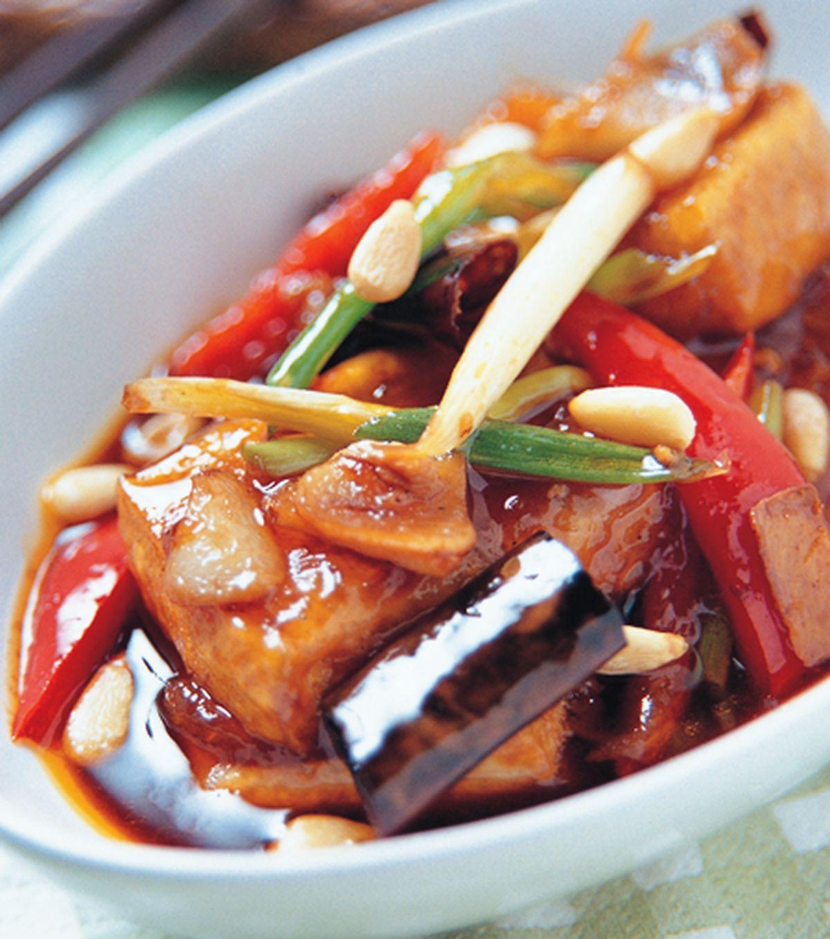 食譜:宮保豆腐(1)
