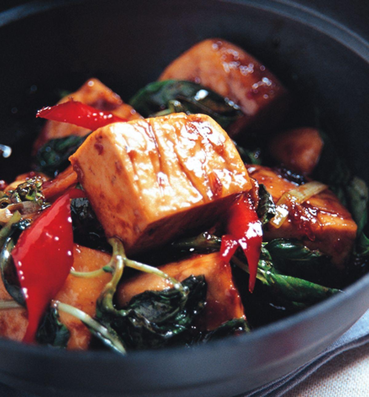 食譜:三杯臭豆腐(2)