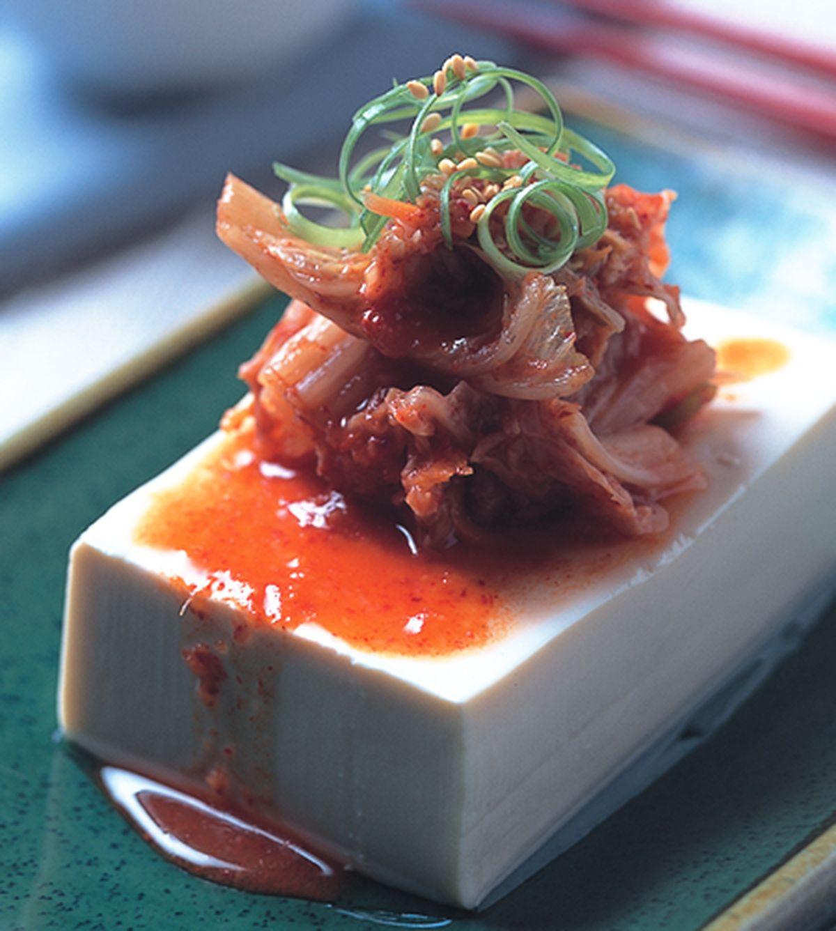 食譜:韓式泡菜冷豆腐