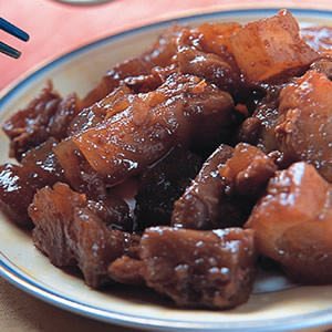 沙茶醬滷牛筋(1)