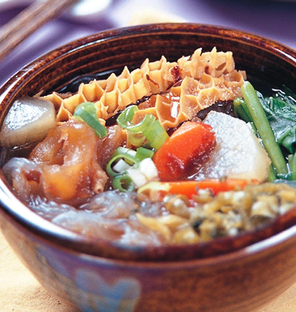 食譜:清燉牛筋麵