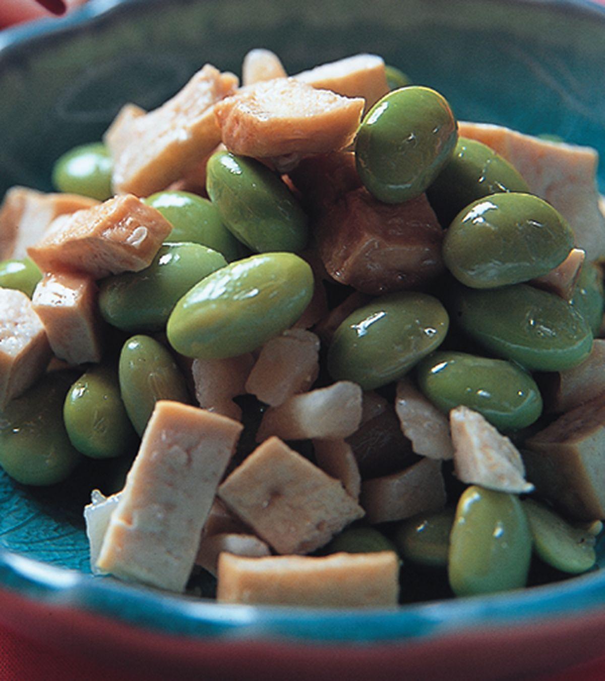 食譜:青豆干丁