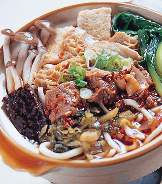 食譜:麻辣牛腩麵