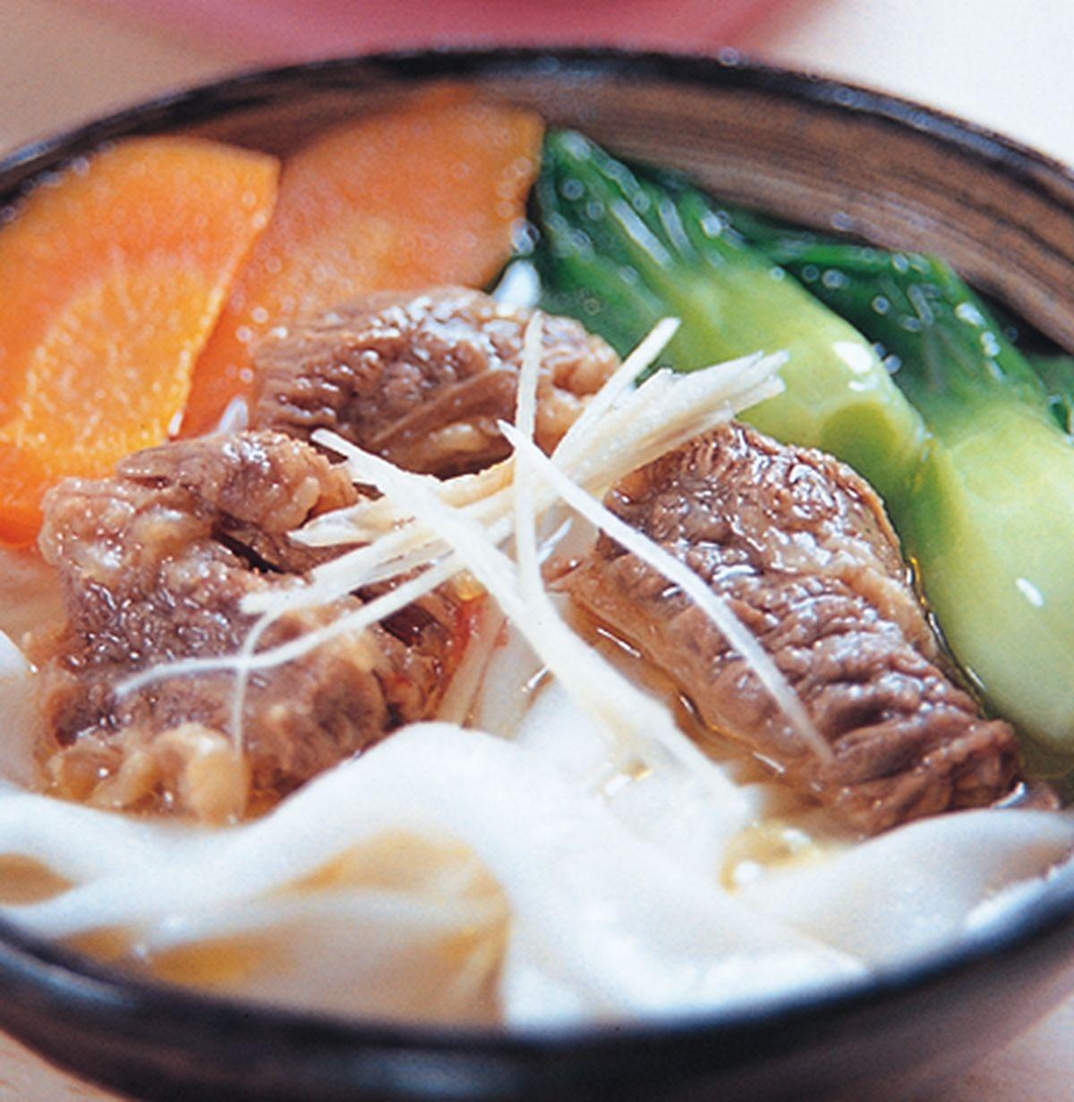 食譜:蔥燒牛肉河粉