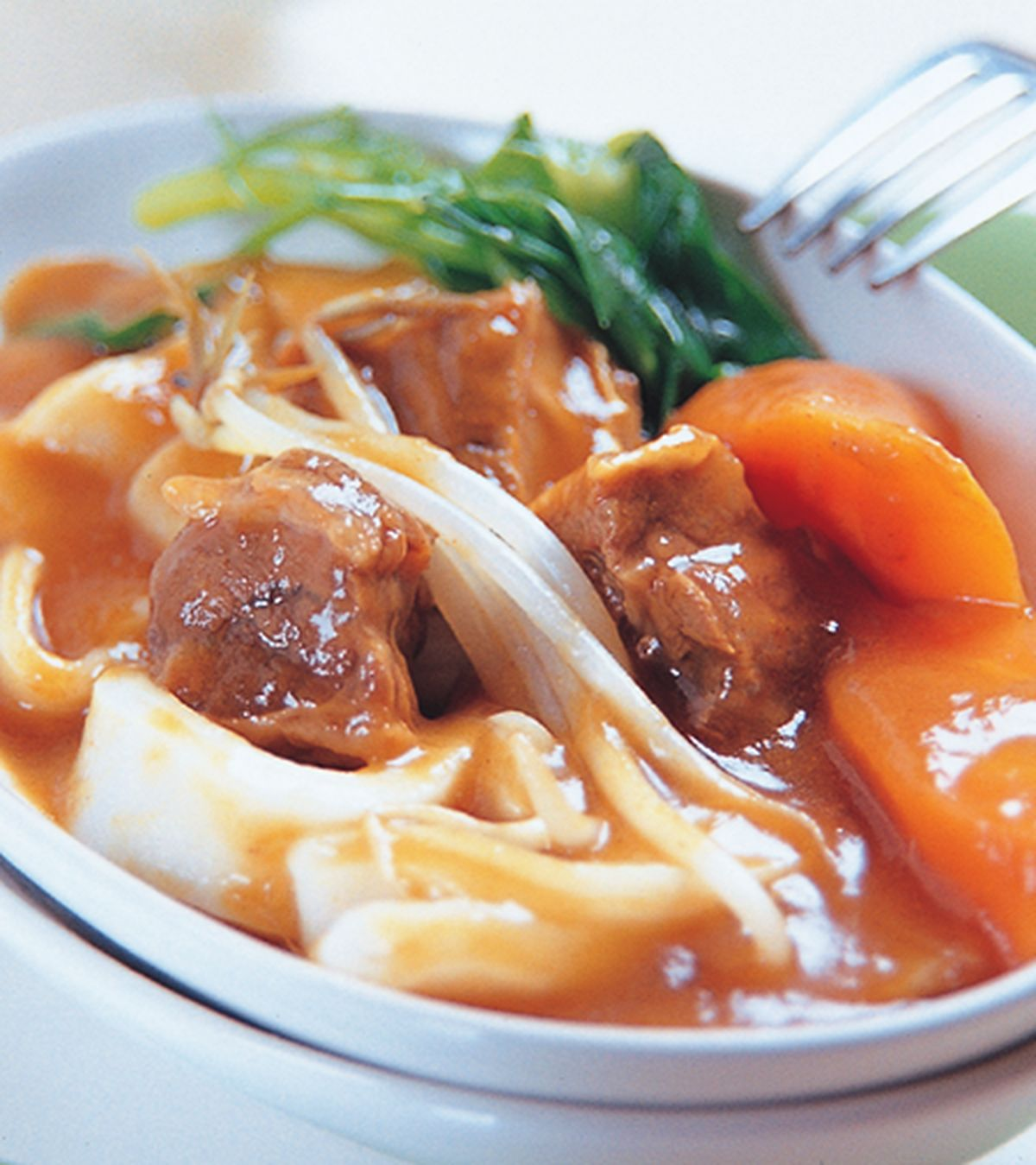 食譜:咖哩牛腩麵