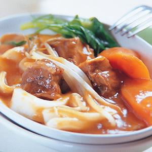 咖哩牛腩麵