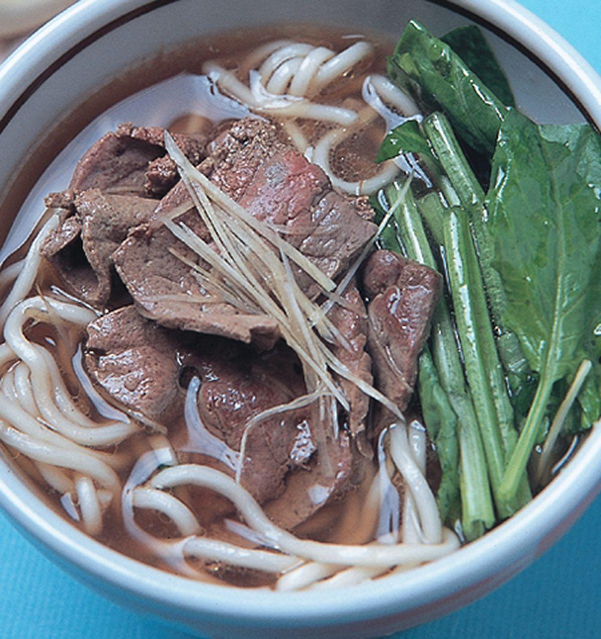 食譜:鮮嫩牛肝麵