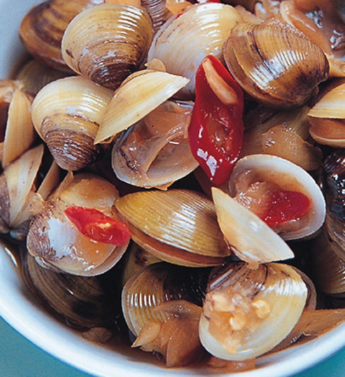 食譜:鹹漬蛤仔
