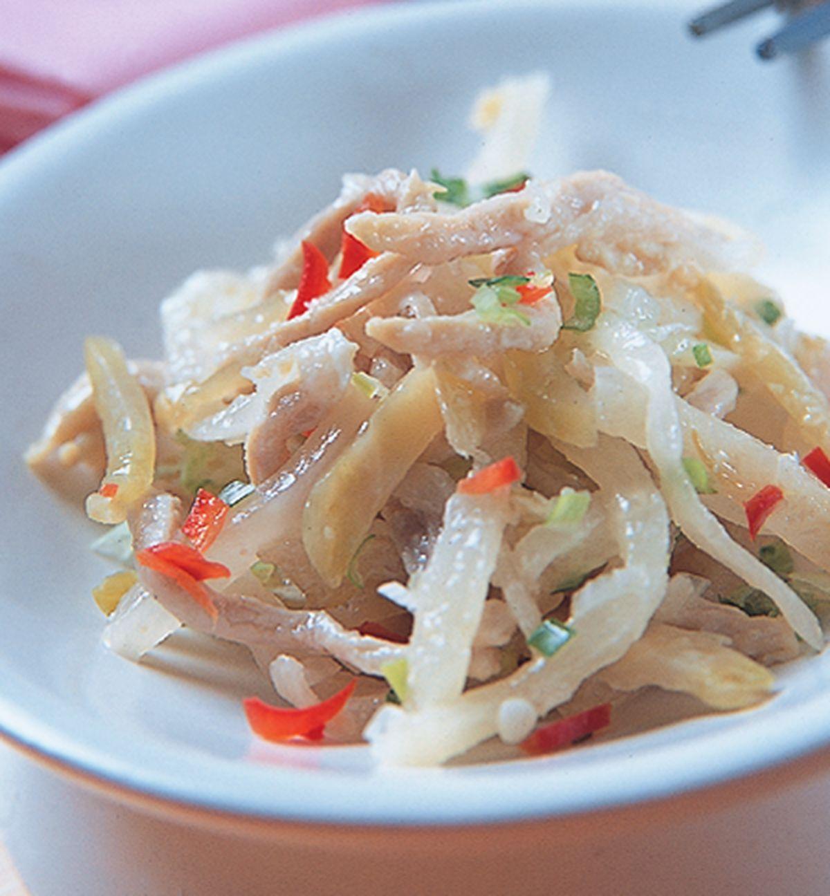 食譜:榨菜肉絲(2)