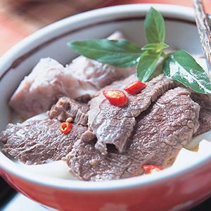 芋香椰汁牛肉河粉