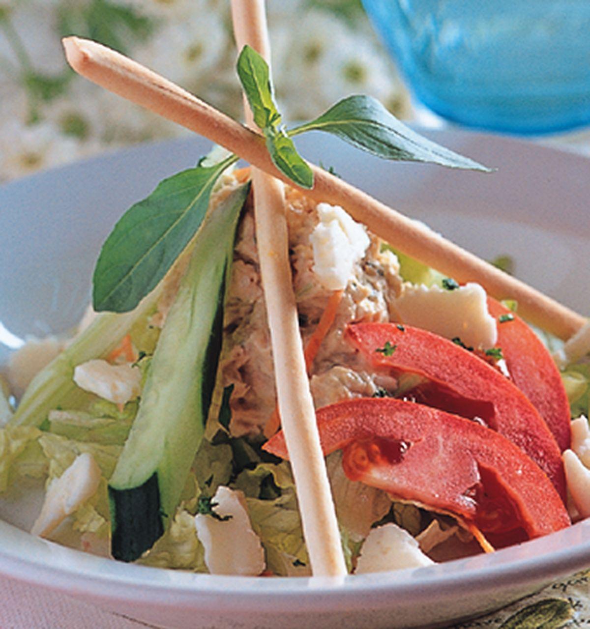 食譜:義大利起士鮪魚沙拉