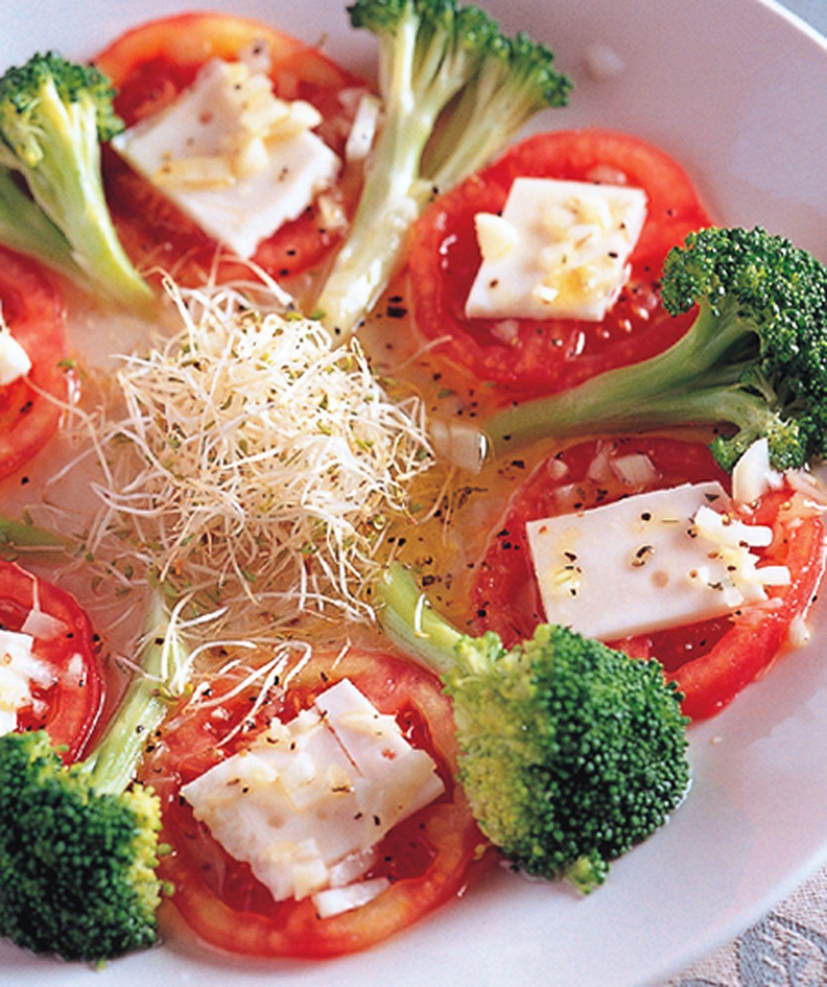 食譜:起士蕃茄油醋