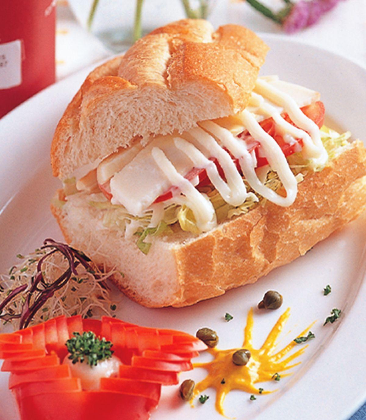 食譜:雪佛瑞特起士蕃茄潛艇堡