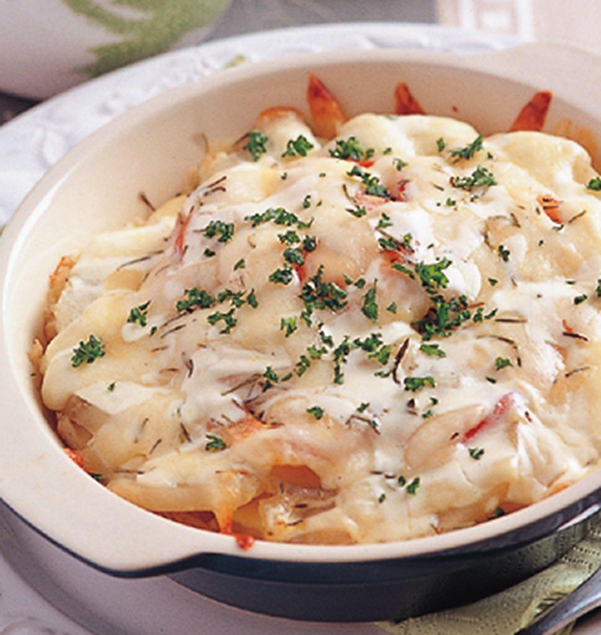 食譜:焗烤蕃茄馬鈴薯