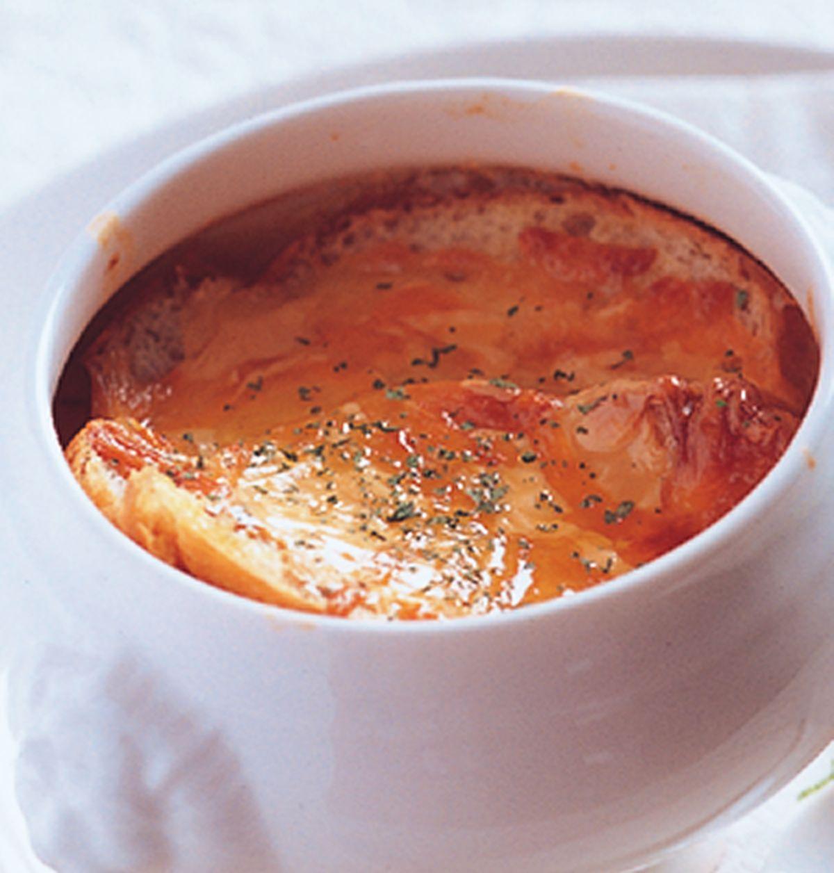 食譜:法式烤洋蔥湯