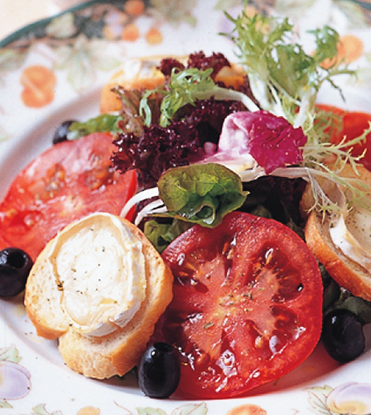 食譜:烤羊奶起司野菜沙拉