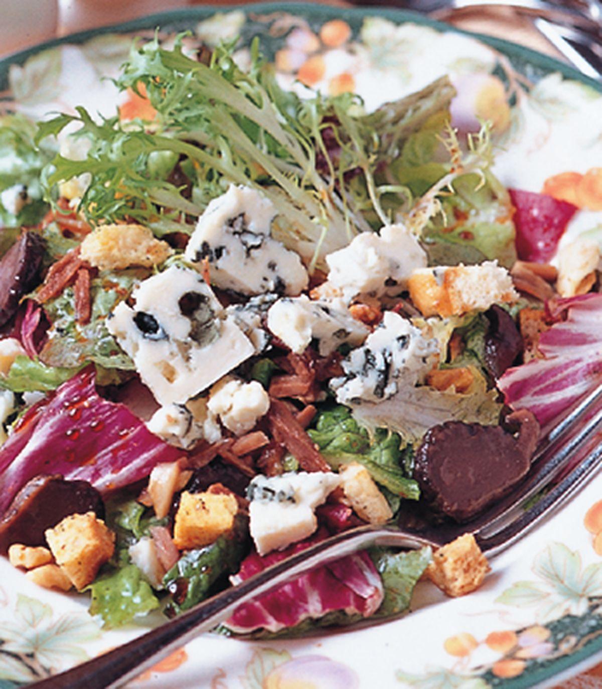 食譜:朗地家鄉野菜沙拉