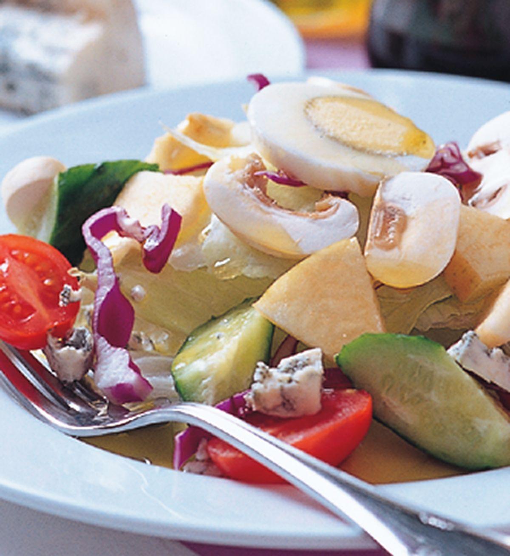 食譜:起司花園沙拉