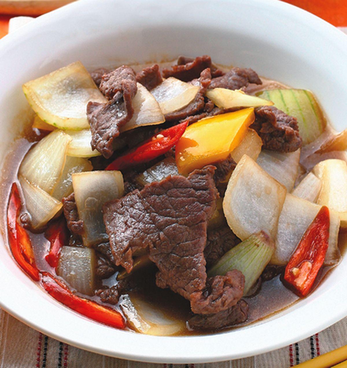 食譜:蠔油牛肉(6)