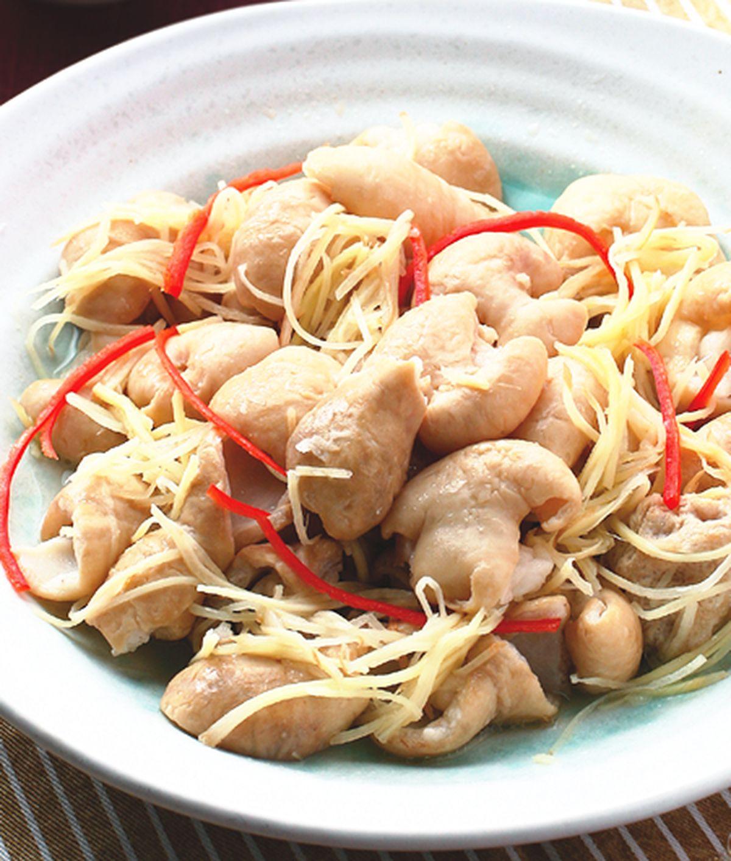 食譜:薑絲大腸(5)