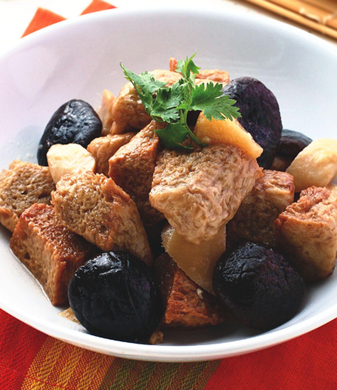 食譜:紅燒烤麩(2)