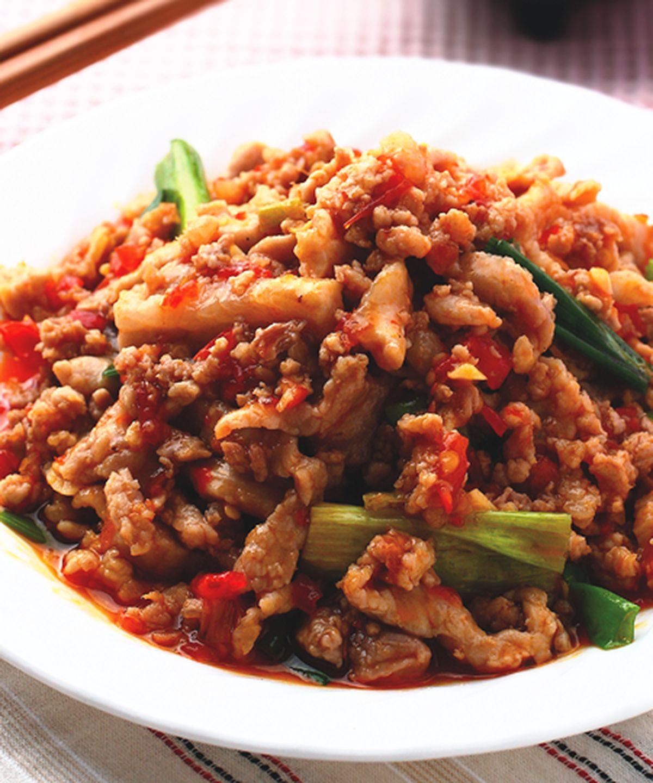 食譜:魚香肉絲(1)