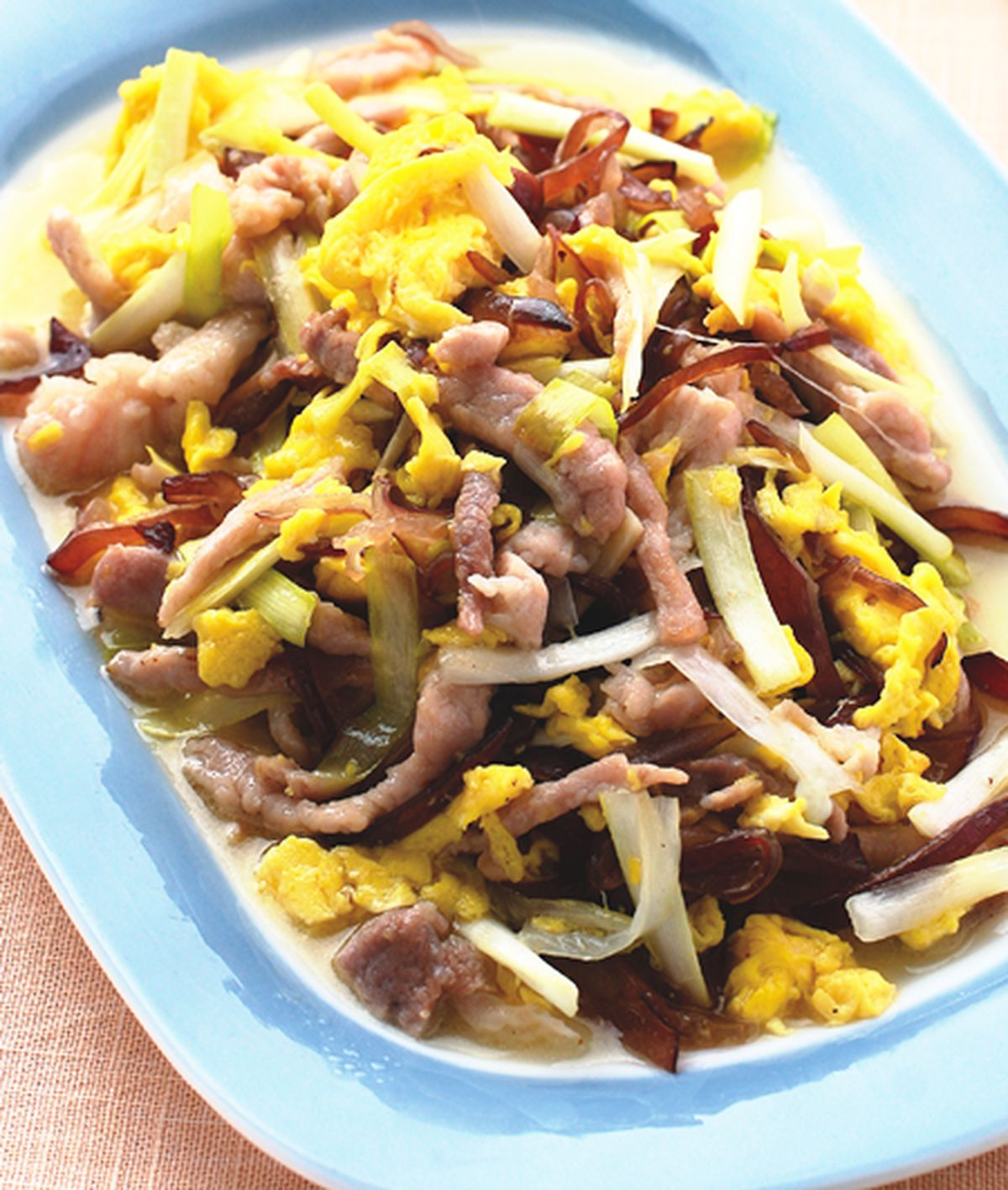 食譜:木須肉(1)