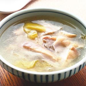酸菜豬肚湯